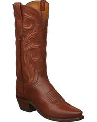 Lucchese Bootmaker - Nicole 5 Toe Western Boot - Lyst