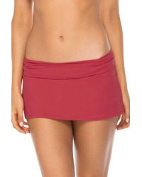 Swim Systems - Aloha Skirted Hipster - Lyst