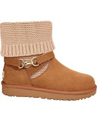 UGG - Purl Strap Ankle Boot - Lyst