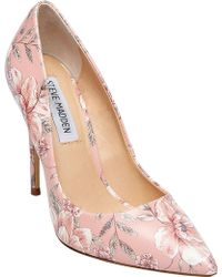 91c887a6e23 Lyst - Steve Madden  proto  Pointy Toe Pump in Pink