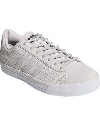 sale retailer 91b20 401da adidas - Neo Cloudfoam Super Daily Leather Sneaker - Lyst
