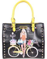 Nicole Lee - Spring Ride Print Tote Bag - Lyst