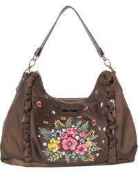 Nicole Lee - Adira Embroidery Garden Handbag - Lyst