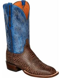 Lucchese Bootmaker - Miller W Toe Western Boot - Lyst
