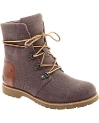 The North Face - Ballard Lace Ii Coated Canvas Lace Up Boot - Lyst