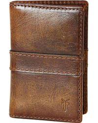 Frye - 'oliver' Leather Wallet - Lyst