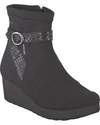Mephisto Tyba Gt Wedge Boot - Black