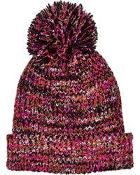 San Diego Hat Company - Multi Yarn Cuff Beanie With Pom Knh3603 - Lyst