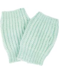 San Diego Hat Company Kng2042 Fingerless Gloves - Blue