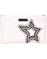 65e2acd2a5fd9a MICHAEL Michael Kors Glitter Star Large Saffiano Leather Cross-body ...