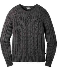 Mountain Khakis Prospector Sweater - Gray