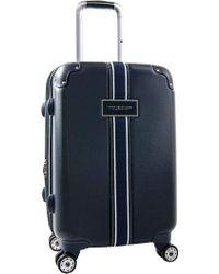 "Tommy Hilfiger Classic Hardside 21"" Upright Suitcase - Blue"