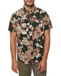 O'neill Sportswear - 1978 Short Sleeve Shirt - Lyst