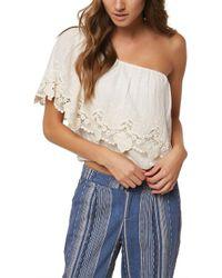 O'neill Sportswear - Sabrina Blouse - Lyst
