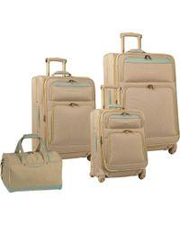 Tommy Bahama | Bahama Mama 4 Piece Luggage Set | Lyst