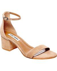 61e2b94052c Lyst - Steve Madden Winslet Women Us 10 Brown Open Toe Platform Heel ...