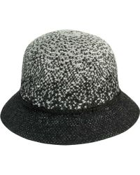 San Diego Hat Company - Colorblock Cloche With Braided Trim Knh3611 - Lyst