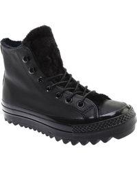 f7c359f456e1c0 Converse - Chuck Taylor All Star Lift Ripple Boot - Lyst