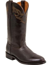 Lucchese Bootmaker - Josephine C Toe Cowgirl Boot - Lyst