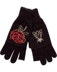 San Diego Hat Company - Texting Finger Glove With Patches Kng3512 - Lyst