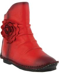 Spring Step - Silvestra Ankle Boot - Lyst