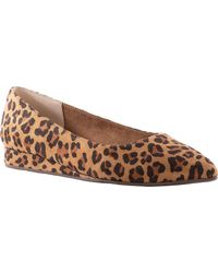 BC Footwear Role Model Pointed Toe Flat - Brown