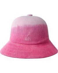 df90060d Kangol Jacquard Casual Bucket Hat in Black - Lyst