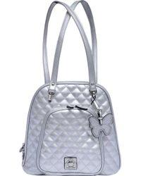 Catherine Malandrino Kirra Convertible Backpack - Metallic