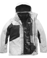 5da76a3dfd Lyst - The North Face Clement Triclimate Jacket in Gray for Men