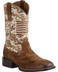 ace495ddf78 Lyst - Ariat 'sport Outrider' Cowboy Boot in Blue for Men