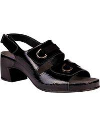 497e6b2b54d Lyst - Helle Comfort Eudora Sandal in Blue