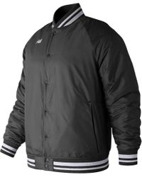 New Balance - Mj83710 Dug Out Jacket - Lyst