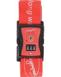 Olympia - Luggage Strap W/ Tsa Lock - Lyst