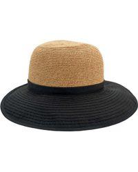 San Diego Hat Company - Colorblock Face Saver Wide Brim Hat Pbl3094 - Lyst 1cbe6b1e19f7