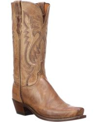 Lucchese Bootmaker - Cassidy 7 Toe Western Boot - Lyst