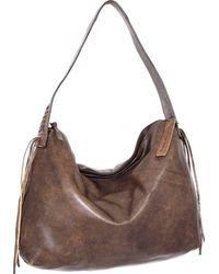 Nino Bossi Verena Leather Hobo - Brown