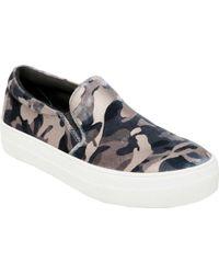 4fcd5e50771 Steve Madden - Gills Slip On Platform Sneaker - Lyst