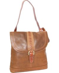 Nino Bossi - Elysia Leather Convertible Backpack - Lyst