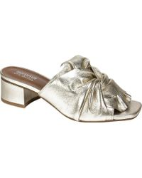 Summit White Mountain - Noelle Heeled Slide - Lyst
