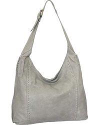 Nino Bossi Nieve Leather Hobo - Gray