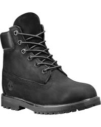 Timberland 6-inch Premium Waterproof Boots - Black