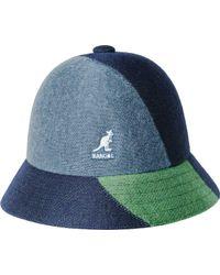 Kangol - Color Blocked Bucket Hat - Lyst