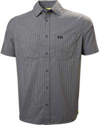 Helly Hansen - Domar Short Sleeve Shirt - Lyst