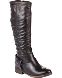Boots Knee Lyst Black Fly High Sher London In vqgTtX