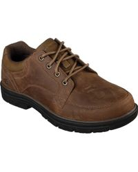 Skechers - Relaxed Fit Segment Wolden Oxford - Lyst