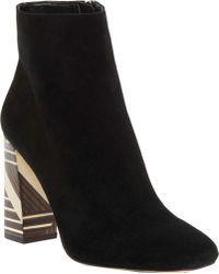 Vince Camuto | Brynta2 Block Heel Ankle Boot | Lyst