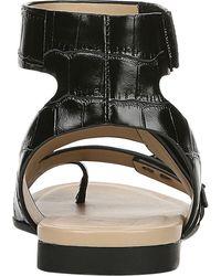Naturalizer Tassy Strappy Toe Loop Sandal - Black