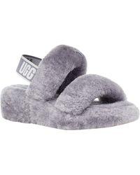 UGG Oh Yeah Slide Slippers - Purple