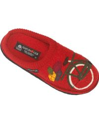 Haflinger - Bicycle Slipper - Lyst