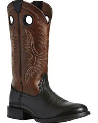 Ariat Sport Big Hoss Cowboy Boot - Brown